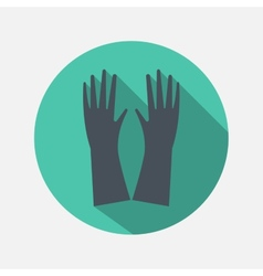 hands icon vector image