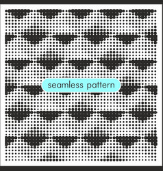 Seamless patterns with halftone dots 17 vector