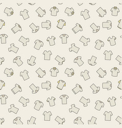 Tshirt pattern - seamless texture vector