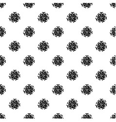 Round viral bacteria pattern vector