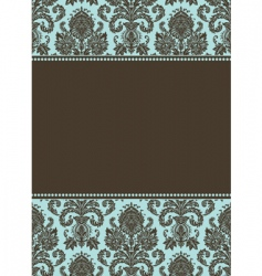 Pattern and frame vector