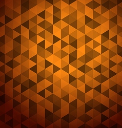 trianga vector image
