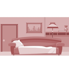 cartoon interior room vector image vector image