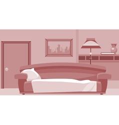 Cartoon interior room vector