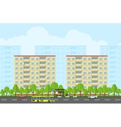 City landscape 2 vector
