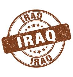 Iraq stamp vector