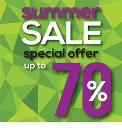 Summer sale modern background vector