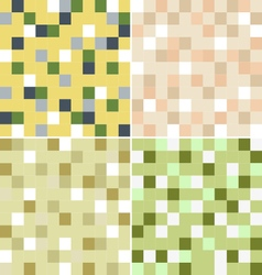 Mosaic with four color vector