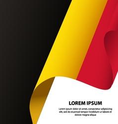 Belgium waving flag background vector