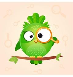bird loop vector image vector image
