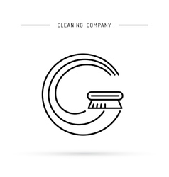 Cleaning of carpets vector image