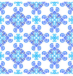 White blue background weave pattern vector