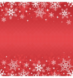winter banner vector image vector image
