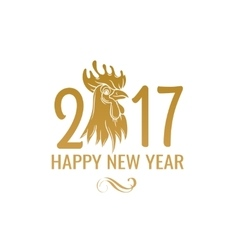 Chinese Symbol Rooster of 2017 vector image