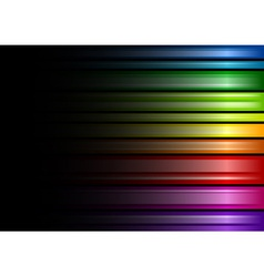 rainbow color background vector image
