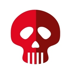 Skull icon Dead design graphic vector image vector image