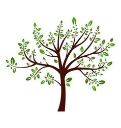 Tree summer sign vector