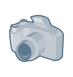 dslr camera retro vector image