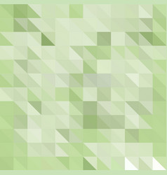 Abstract polygonal mosaic background of triangles vector
