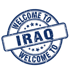 Welcome to iraq vector