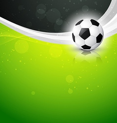 beautiful background of football vector image