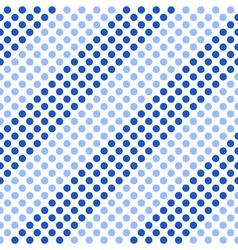 Seamless pattern Diagonal blue stripes vector image