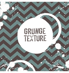 grunge zigzag pattern seamless vector image