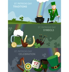 St patricks day traditional vector