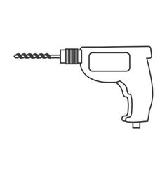 Drill icon tool design graphic vector