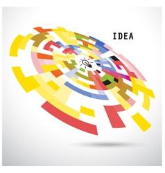 Creative circle abstract logo design backgr vector