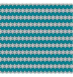 flowers background seamless pattern vector image vector image