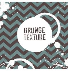 grunge zigzag pattern seamless vector image