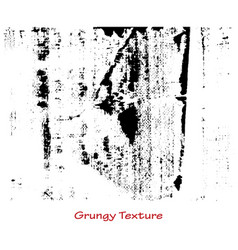 grungy hand made texture vector image vector image