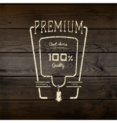 Premium best choice badges logos and labels for vector image