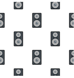 Subwoofer pattern seamless vector