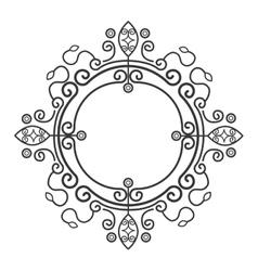 Victorian ornament graphic design vector image vector image