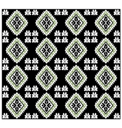 Aztec monochromatic seamless design vector