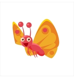 Butterfly mid-air icon vector