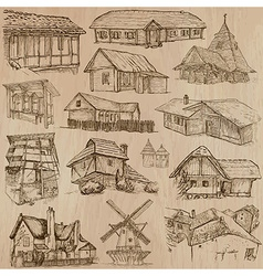 Architecture and places around the world - vector