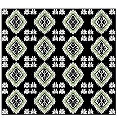 Aztec Monochromatic Seamless Design vector image vector image
