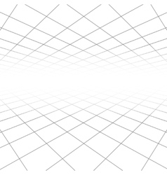 Ceiling and floor tile texture 3d lines in vector