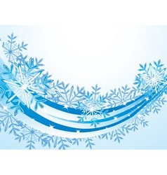 Christmas wave pattern background vector image vector image