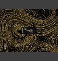 Luxury festive background with shiny golden vector