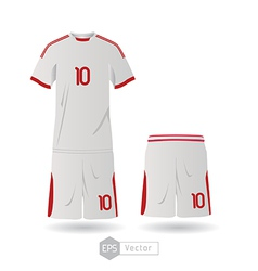 mexico team uniform 01 vector image vector image