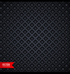 stylish metal texture dark background with vector image vector image