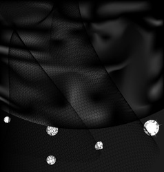 Silk and gems vector