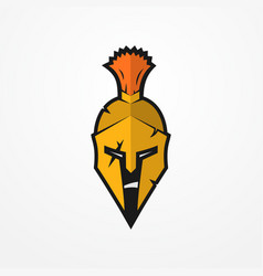 spartan warrior image vector image