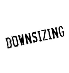 Downsizing rubber stamp vector