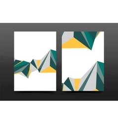 3d abstract geometric shapes modern minimal vector