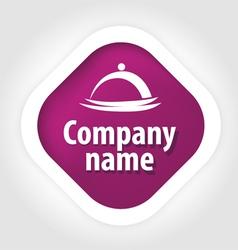 Concept logo public catering vector